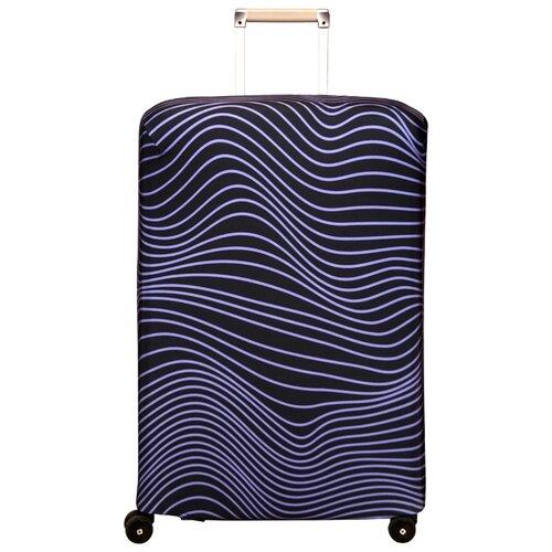 цена Чехол для чемодана ROUTEMARK Olas SP240 L/XL, фиолетовый онлайн в 2017 году