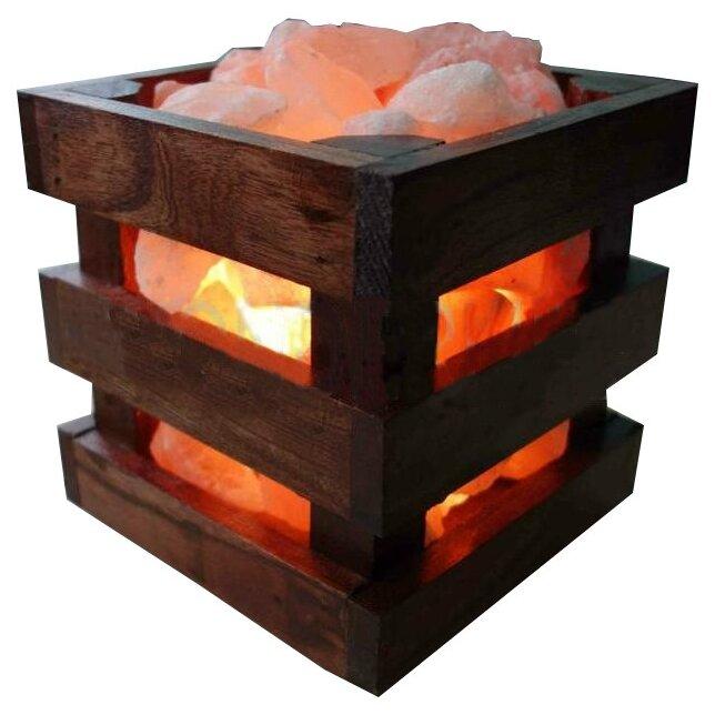 Солевая (соляная) лампа Wonder Life Wood (4 кг.)
