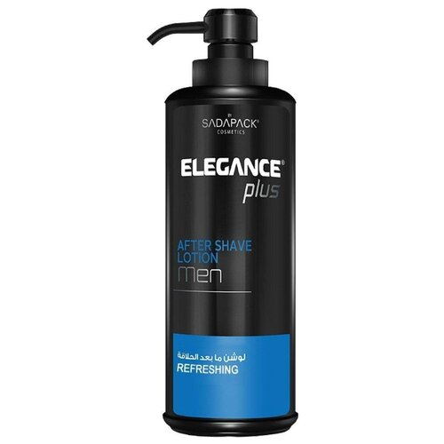 Лосьон после бритья After Shave Lotion Refreshing освежающий Elegance Plus, 500 мл цена 2017