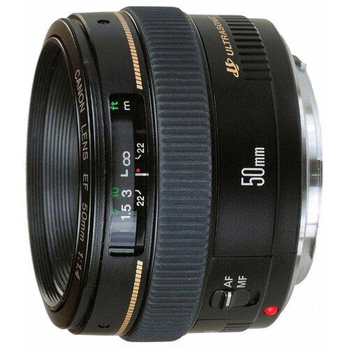 Объектив Canon EF 50mm f/1.4 USM объектив canon ef 180mm f 3 5l macro usm