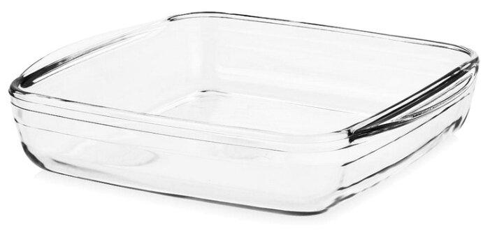 Форма для запекания стеклянная Pyrex 209BC00 (21х21х5 см)