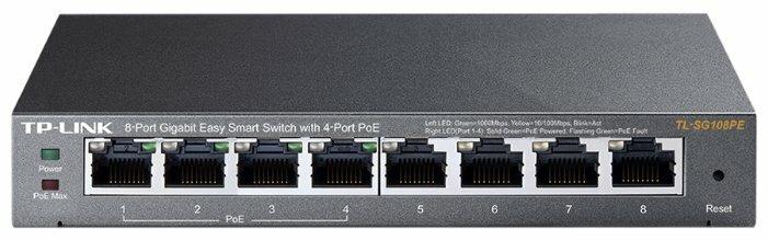 Коммутатор TP-LINK Easy Smart TL-SG108PE V1 — более 10 предложений — купить по выгодной цене на Яндекс.Маркете