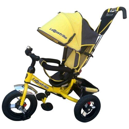Купить Трехколесный велосипед Shantou City Daxiang Plastic Toys Lexus Trike 950-N1210-TXT желтый, Трехколесные велосипеды