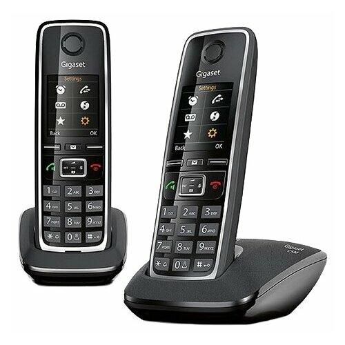 Радиотелефон Gigaset C530 Duo черный