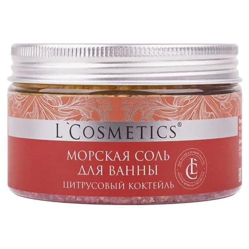 LCosmetics Cоль для ванн Цитрусовый коктейль 350 гПена, соль, масло<br>