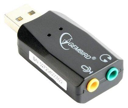 Внешняя звуковая карта Gembird SC-USB2.0-01