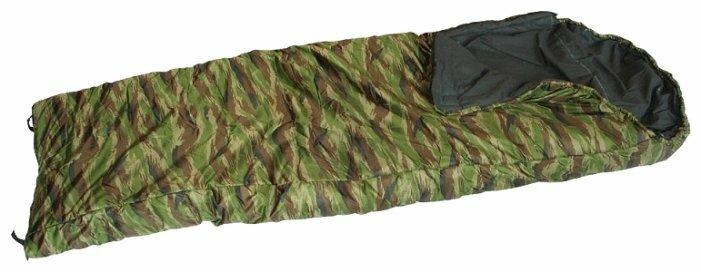 Спальный мешок Спортивные Мастерские Одеяло с капюшоном КМФ -5 С/-15 С камуфляж