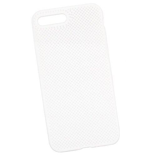 Чехол Liberty Project Silicone Dot Case для Apple iPhone 7 Plus/8 Plus белый high waist polka dot plus size bikini
