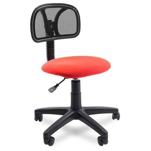 Компьютерное кресло Chairman 250, обивка: текстиль, цвет: черный/красный