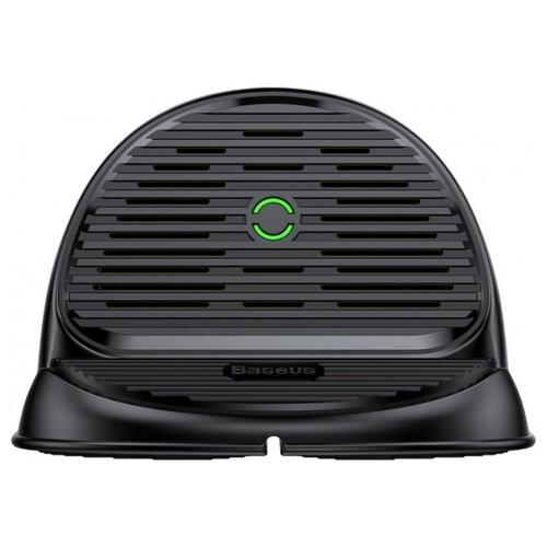 Фото - Беспроводная сетевая зарядка Baseus Silicone Horizontal Desktop Wireless Charger черный беспроводная сетевая зарядка baseus ufo desktop wireless charger черный