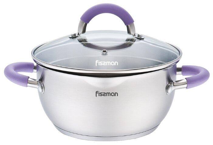 Кастрюля Fissman Annette 2,6 л, фиолетовый