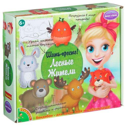 Купить BONDIBON Набор для шитья Лесные жители (ВВ1369), Изготовление кукол и игрушек