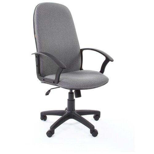 Компьютерное кресло Chairman 289 NEW для руководителя, обивка: текстиль, цвет: 20-23 серый компьютерное кресло chairman 434n для руководителя обивка текстиль цвет вельвет черный