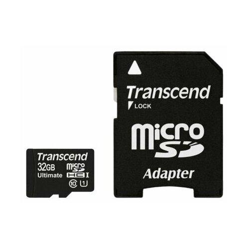 Фото - Карта памяти Transcend TS32GUSDHC10U1 карта памяти transcend ts128gcf800
