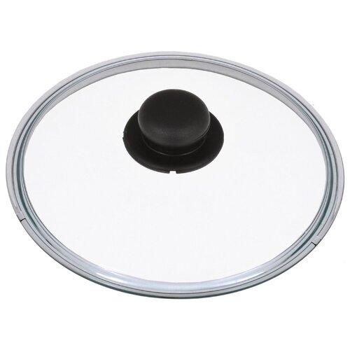 Крышка Tescoma Unicover стеклянная (619028) (28 см) прозрачный/черный