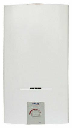 Проточный газовый водонагреватель Neva 5514 (белый)