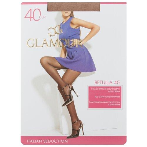 Колготки Glamour Betulla 40 den, размер 5-XL, miele (бежевый) колготки glamour betulla 40 den размер 5 xl daino коричневый