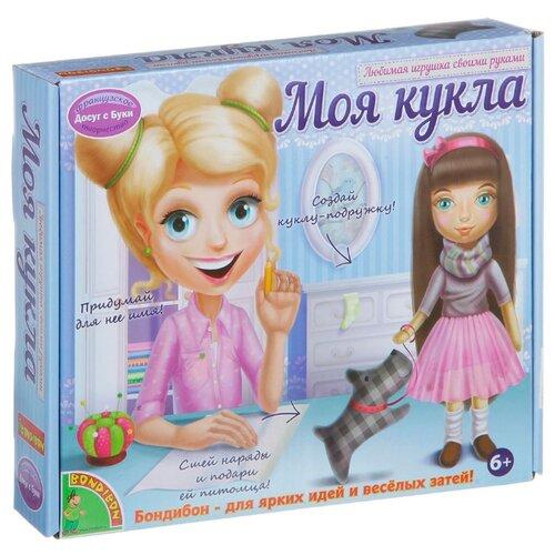 Купить BONDIBON Набор для шитья Любимая игрушка своими руками брюнетка (ВВ1409), Изготовление кукол и игрушек
