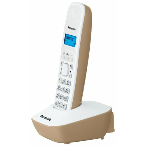 Радиотелефон Panasonic KX-TG1611 бежевый радиотелефон panasonic kx tg1611
