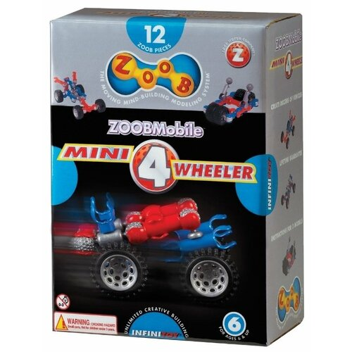 цена на Конструктор Zoob ZOOBMobile 12050 Mini 4-Wheeler