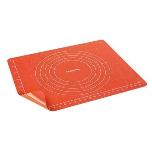 Коврик для раскатки теста Tescoma 629448 (50х40 см) лист силиконовый для раскатки теста dosh home gemini 40 x 50 см