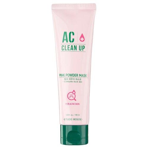 Etude House Маска для проблемной кожи AC Clean Up Pink Powder Mask, 100 мл цена 2017