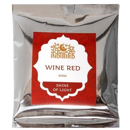 Хна Indibird винно-красная, 50 г хна для волос натуральная черная indibird 50 г