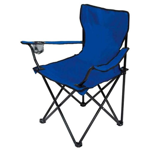 Кресло ECOS DW-2009H с подлокотниками синий reka кресло складное с подлокотниками ck 305 синий