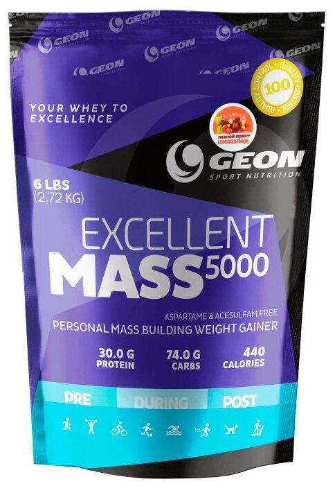 Гейнер G.E.O.N. Excellent Mass 5000 (2,72 кг)