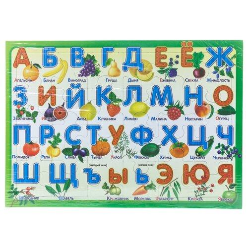 Рамка-вкладыш Русский стиль Алфавит Дары природы (03872), 24 дет.Пазлы<br>