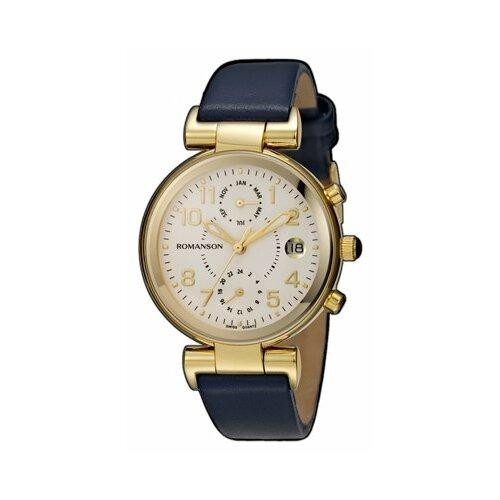 цена Наручные часы ROMANSON RL4211FLG(WH)BU онлайн в 2017 году