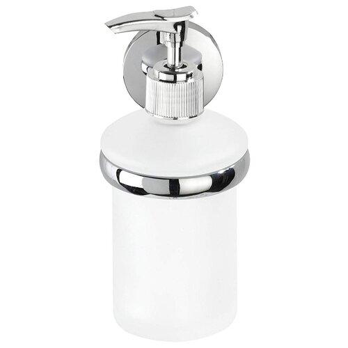 Дозатор для жидкого мыла Wenko Cuba хром/матовое стекло