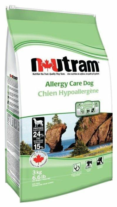 Корм для собак Nutram Allergy Care Dog (15 кг)