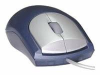 Мышь Porto Ergonomic Mini Optical Mouse PM-03BU Blue USB