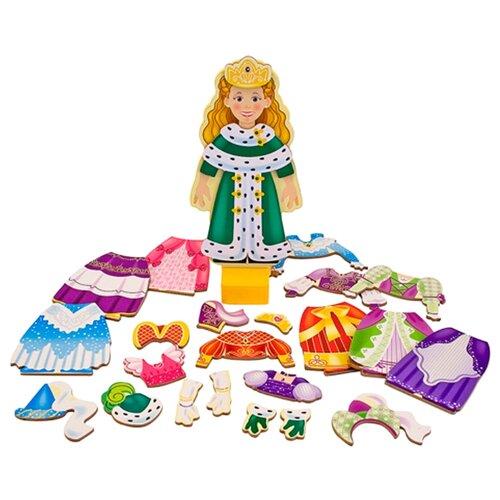 Купить Игровой набор Melissa & Doug Princess Elise Magnetic Dress-Up Set 3553, Игровые наборы и фигурки