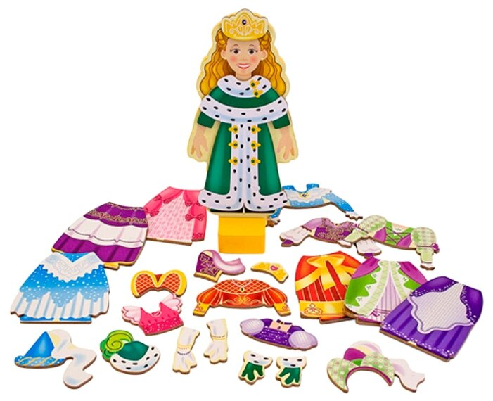 Игровой набор Melissa & Doug Princess Elise Magnetic Dress-Up Set 3553