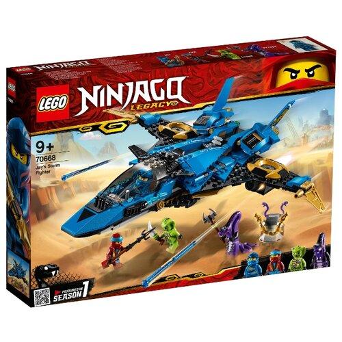 Конструктор LEGO Ninjago 70668 Штормовой истребитель Джея lego ninjago конструктор крыло судьбы 70650