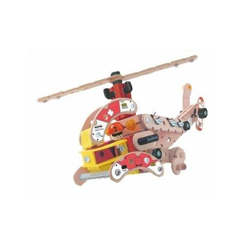 Купить Винтовой конструктор Roys RoysWood FWC-160 Вертолет, Конструкторы