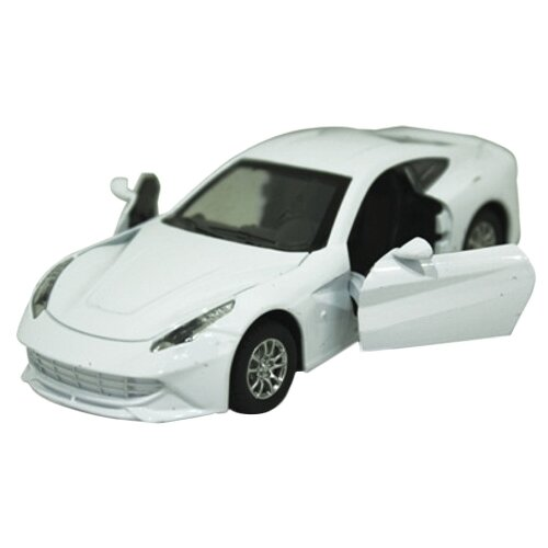 Купить Легковой автомобиль Yako Драйв (M6072) 1:34 белый, Машинки и техника