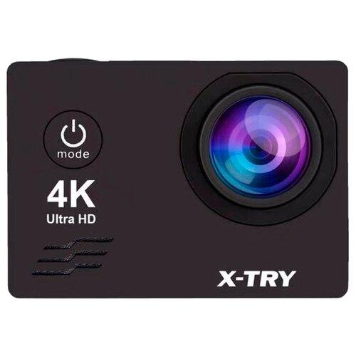 Фото - Экшн-камера X-TRY XTC172 черный кушетка артмебель грация эко кожа бело черный левый