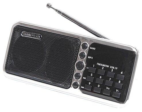 Радиоприёмник Сигнал РП-226 черный/серебристый