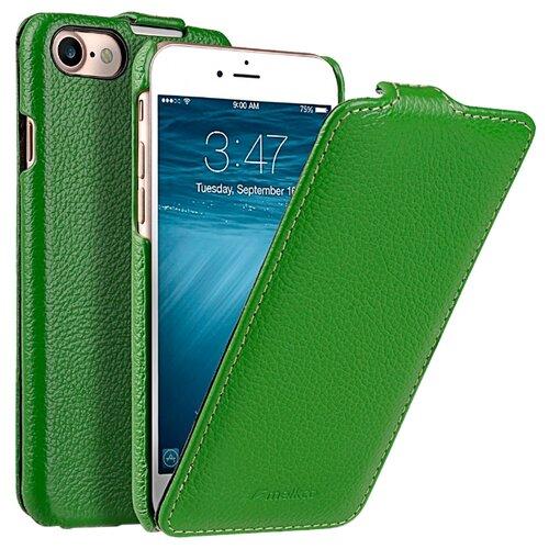 Флип-чехол Melkco Jacka Type для Apple iPhone 7/iPhone 8 зеленый флип чехол melkco jacka type для apple iphone 7 iphone 8 темно синий