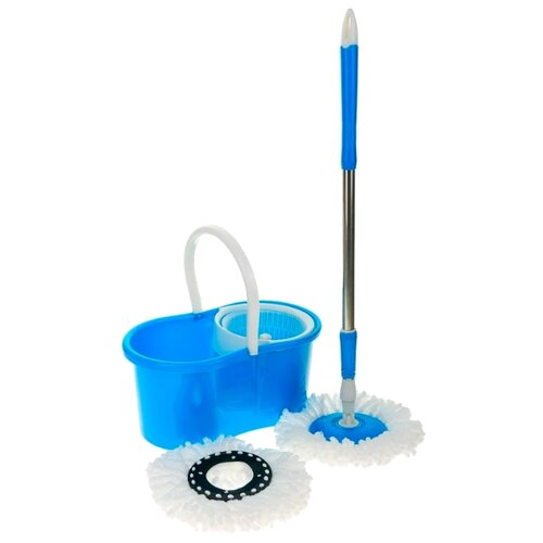 Набор Keya Fashion Goods (с пластиковой центрифугой), белый/голубой/серебристый