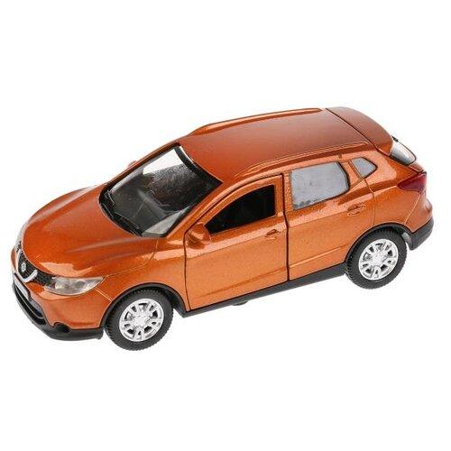 Купить Легковой автомобиль ТЕХНОПАРК Nissan Qashqai (QASHQAI-GD/BU/GY) 1:36 12 см оранжевый, Машинки и техника
