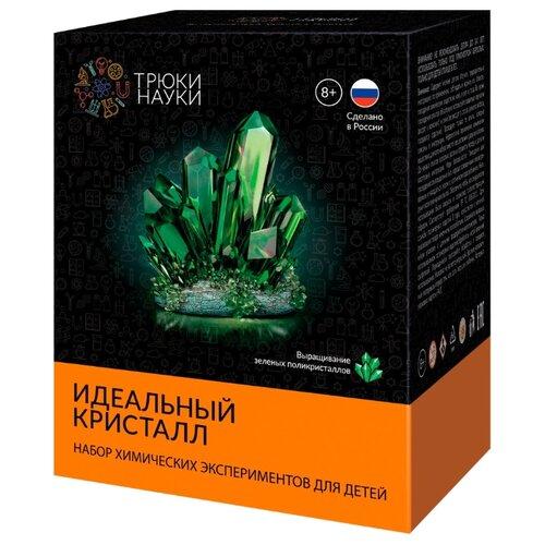 Купить Набор для исследований Трюки науки Идеальный кристалл зеленый, Наборы для исследований