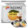 Кофе в капсулах Tassimo Jacobs Latte Macchiato Caramel (8 капс.)