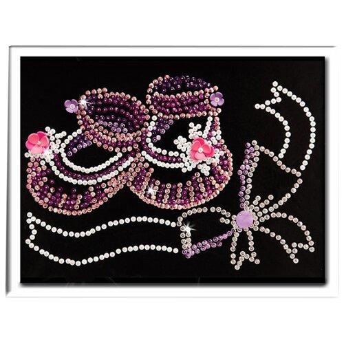 Купить Волшебная Мастерская Мозаика из пайеток Метрика для девочки 045, Картины из пайеток