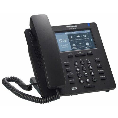 Фото - VoIP-телефон Panasonic KX-HDV330 черный voip телефон panasonic kx udt111ru черный