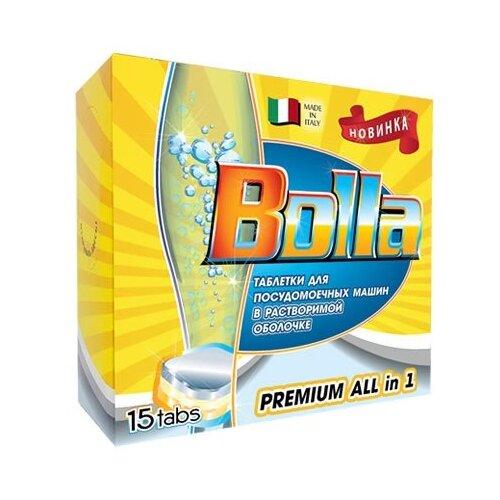 BOLLA Premium All in one таблетки для посудомоечной машины 15 шт.