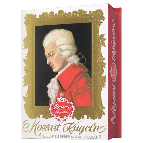 набор конфет reber constanze mozart kugeln 240 г Набор конфет Reber Mozart Kugeln 240 г